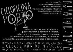 Panfleto de lançamento da ciclocozinha 2014