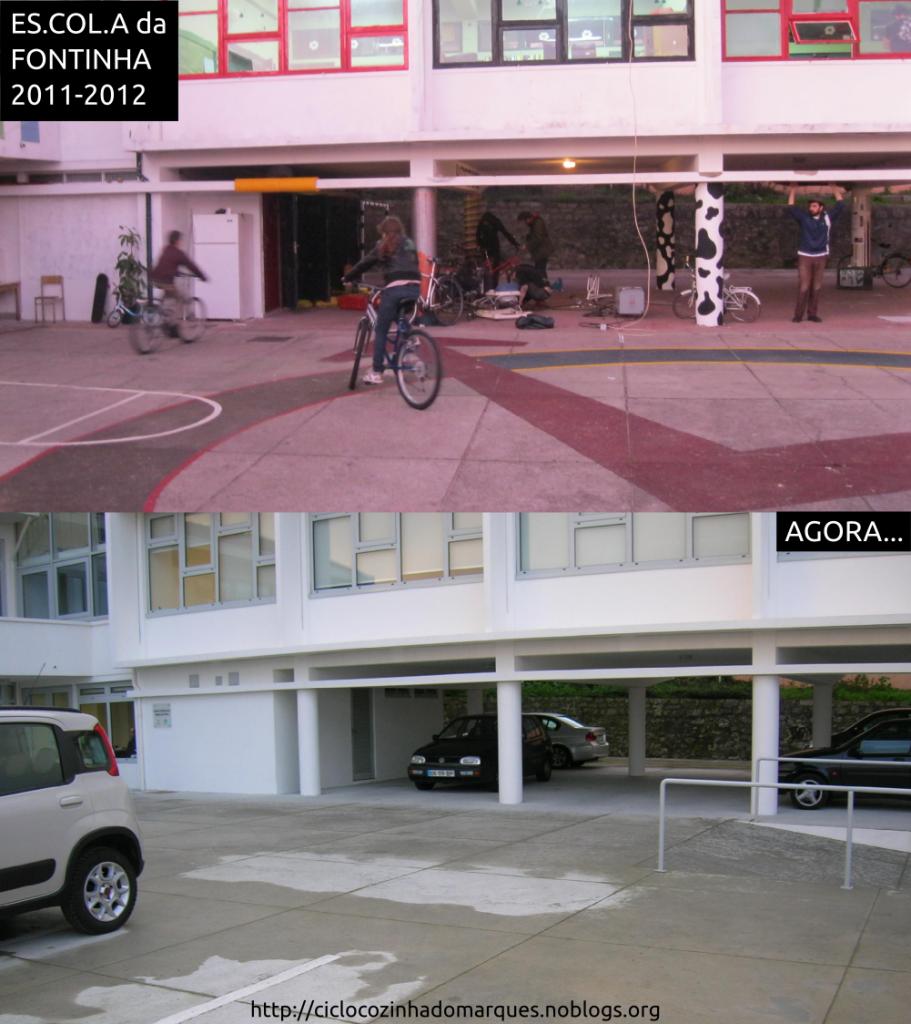 escola-antes e agora